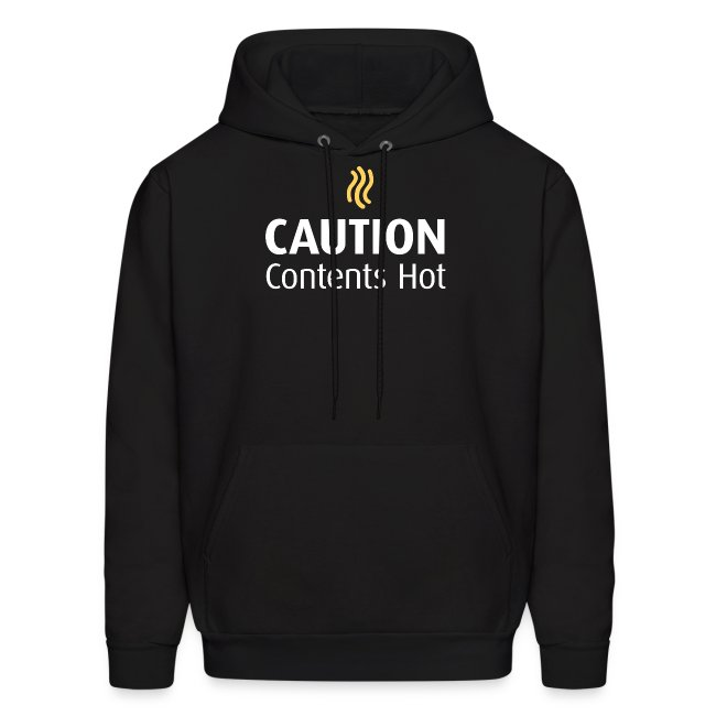 Caution Contents Hot Hoodie