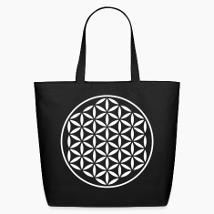 FLOWER OF LIFE - vector stamp | eco-friendly cotto
