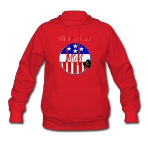 All American MOM - Women's Hoodie