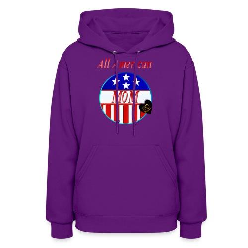 All American MOM - Women's Hoodie