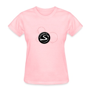 Standard Logo - URL on back - Colored Shirts - Women's T-Shirt