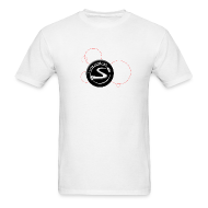 T-Shirts ~ Men's T-Shirt ~ Standard Logo - URL on back - White Shirt