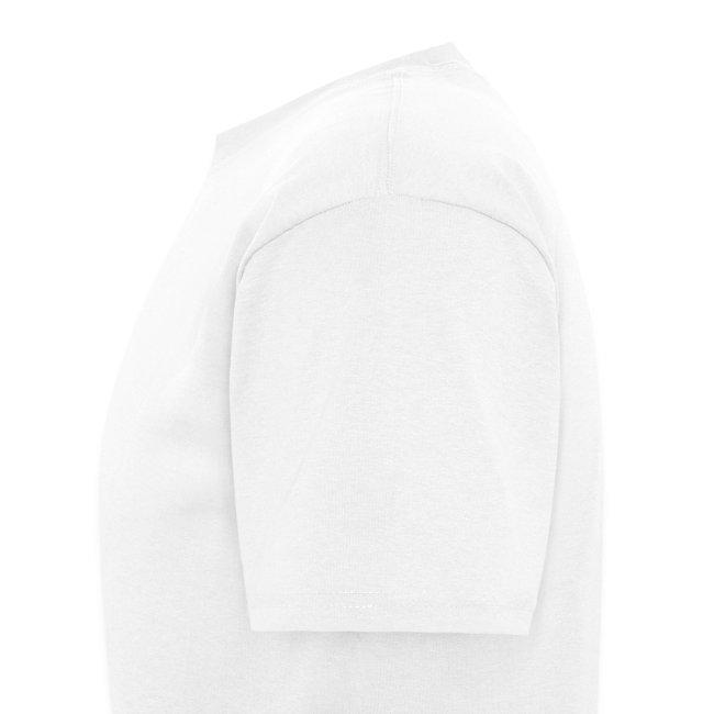 Standard Logo - URL on back - White Shirt