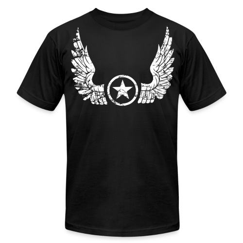 Distressed Wings - Men's  Jersey T-Shirt