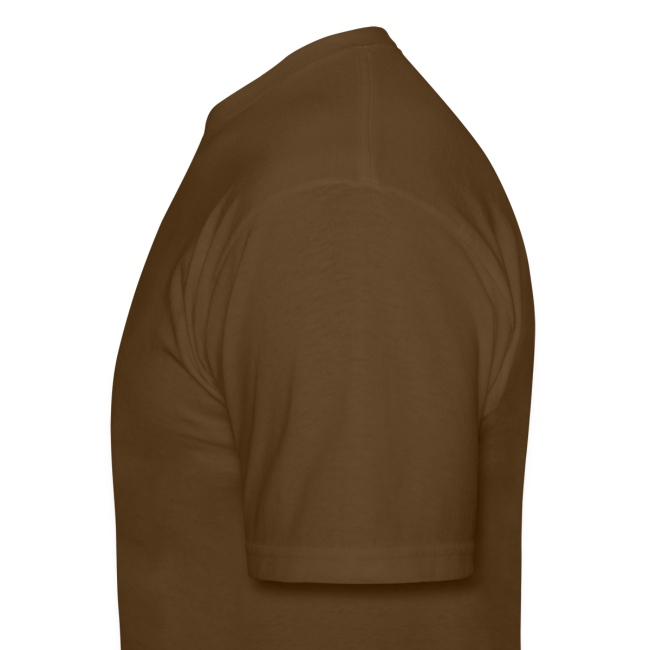 Harpin' For Hunger t-shirt (brown)
