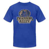 T-Shirts ~ Men's T-Shirt by American Apparel ~ Trappers Alley DWD Men's American Apparel Tee