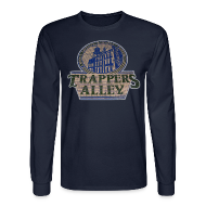 Long Sleeve Shirts ~ Men's Long Sleeve T-Shirt ~ Trappers Alley DWD Men's Long Sleeve Tee