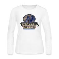 Long Sleeve Shirts ~ Women's Long Sleeve Jersey T-Shirt ~ Trappers Alley DWD Women's Long Sleeve Jersey Tee