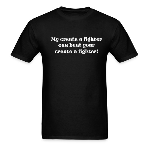 create a fighter - Men's T-Shirt