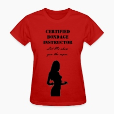 bondage_instructor Women's T-Shirts