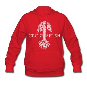 Women's Cross-fetish hoodie with CFO on back - Women's Hoodie