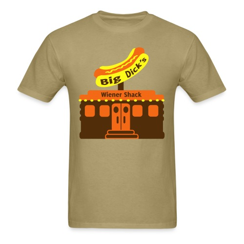 Big Dick's Wiener Shack - Men's Shirt - Men's T-Shirt