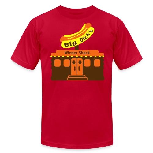 Big Dick's Wiener Shack - Men's Shirt - Men's Fine Jersey T-Shirt