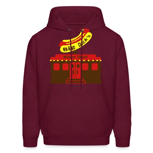 Big Dick's Wiener Shack - Men's Shirt - Men's Hoodie