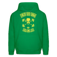 Hoodies ~ Men's Hoodie ~ Mens Skull and Crossbones