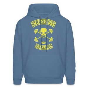 Mens Skull and Crossbones - Men's Hoodie