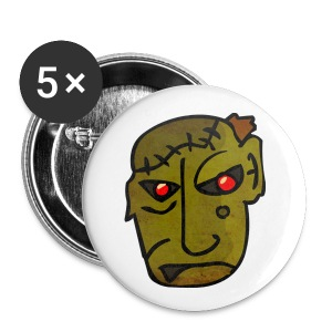 Zombie Small Buttons - Small Buttons