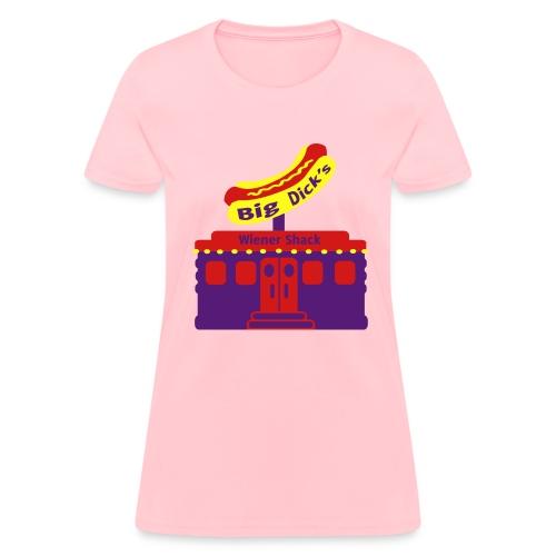 Big Dick's Wiener Shack - Women's Shirt - Women's T-Shirt