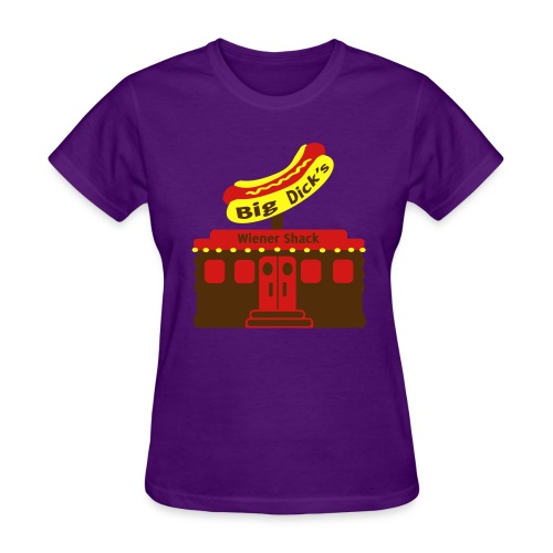 Big Dick's Wiener Shack - Women's Shirt - Women's T-Shirt