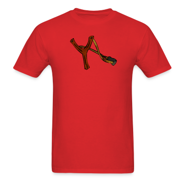 Rude Slingshot - Catapult T-Shirt