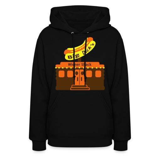 Big Dick's Wiener Shack - Women's Shirt - Women's Hoodie
