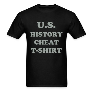 HISTORY CHEAT T-SHIRT - Men's T-Shirt