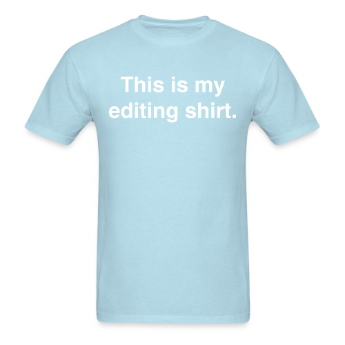 Editing Shirt tee - Men's T-Shirt
