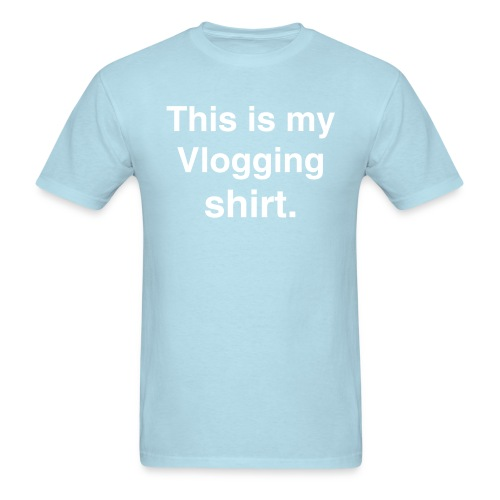 Vlogging Shirt tee - Men's T-Shirt