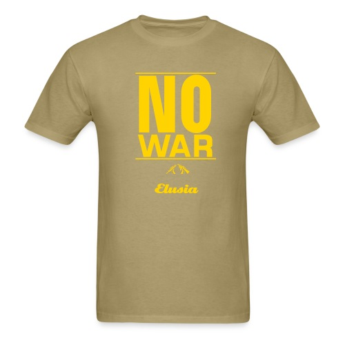 'No War' Elusia Shirt - Men's T-Shirt