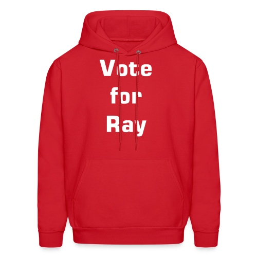 Vote for Ray - Men's Hoodie