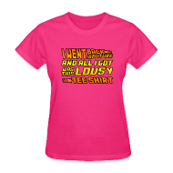 T-Shirts ~ Women's T-Shirt ~ I Went Back to the Future...