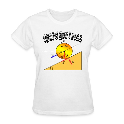 That's How I Roll - Women's T-Shirt