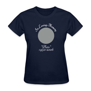 In Memory of Pluto - Women's T-Shirt