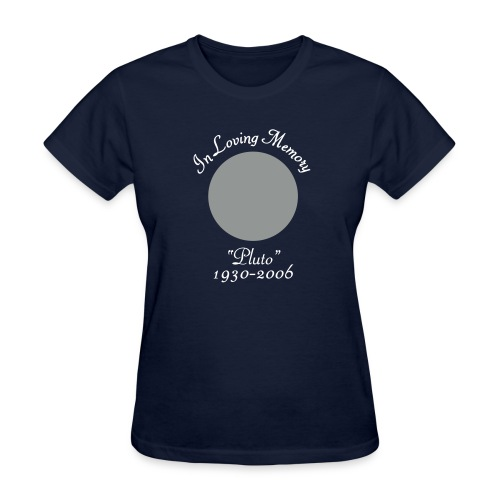 In Memory of Pluto - Women's T-Shirt