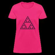 T-Shirts ~ Women's T-Shirt ~ Pascal's Triangle (fractal)