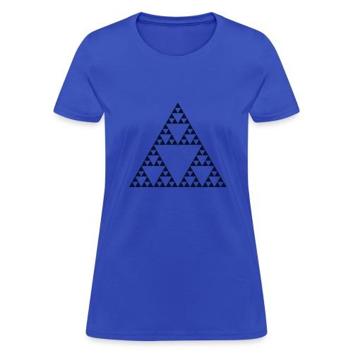 Pascal's Triangle (fractal) - Women's T-Shirt