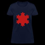 Women's T-Shirts ~ Women's T-Shirt ~ Koch Snowflake