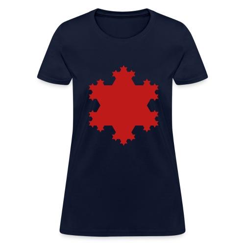 Koch Snowflake - Women's T-Shirt