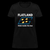 Women's T-Shirts ~ Women's T-Shirt ~ Flatland