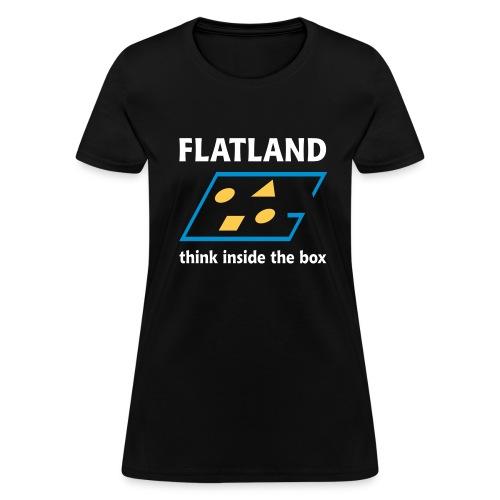 Flatland - Women's T-Shirt