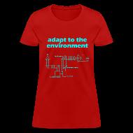 Women's T-Shirts ~ Women's T-Shirt ~ Adapt to the Environment (adaptive optics)