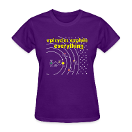 Women's T-Shirts ~ Women's T-Shirt ~ Epicycles Explain Everything
