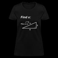 Women's T-Shirts ~ Women's T-Shirt ~ Find X