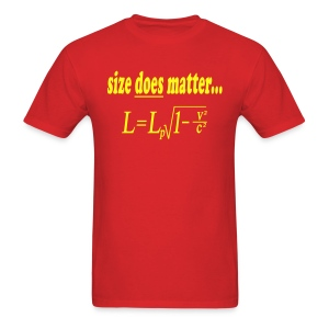 Size DOES matter... - Men's T-Shirt