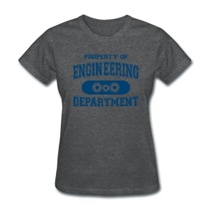 Property of Engineering Department - Women's T-Shirt