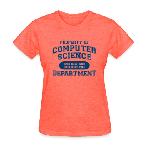 Property of Computer Science Department - Women's T-Shirt