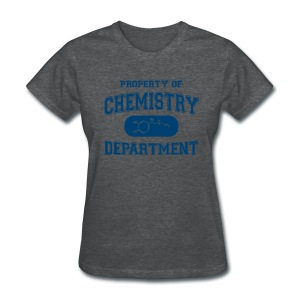 Property of Chemistry Department - Women's T-Shirt