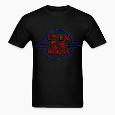 open_24_hours T-Shirts
