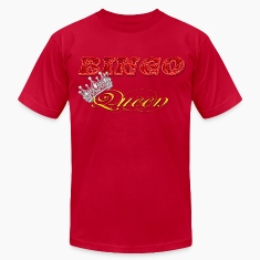 bingo queen crown red styles T-Shirts