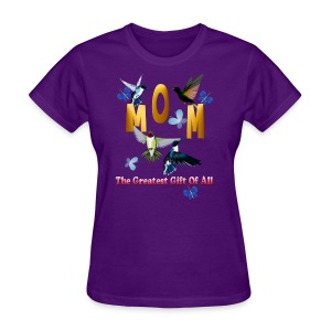 MOM. The greatest gift of all. - Women's T-Shirt